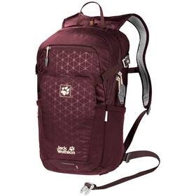 Jack Wolfskin Alleycat 18 Pack, port wine grid